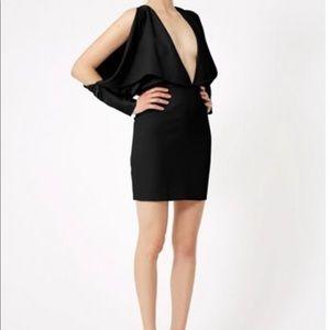 Black AQAQ mini dress
